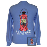 Girlie Girl Originals Be A Light Faith Long Sleeves T-Shirt