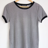 Dale Basic Stripe Tee