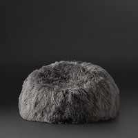 Tibetan Wool Bean Bag - Graphite