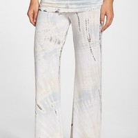 Women's Hard Tail Ruched Foldover Waist Pants,