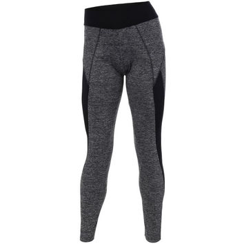 Heathered High Stretchy Athletic Leggings