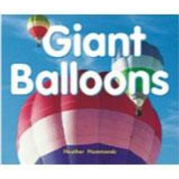 Rigby Focus Early Leveled Reader 6pk Nonfiction Giant Balloons