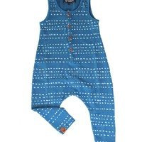 OOVY Kids | Kids Indigo Splash Jumpsuit | Cool Baby Rompers