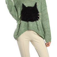 Here Kitty Kitty Sweater