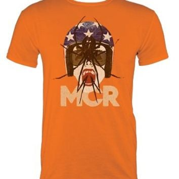 My Chemical Romance Draculoid Orange Mens T-Shirt - Offical Band Merch - Buy Online at Grindstore.com