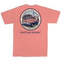 Merican Proper Classic Country Truck Pigment Dyed T-Shirt