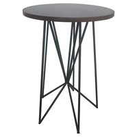 Room Essentials™ Mixed Material Accent Table - Black