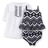 3-Piece Tankini & Cover Up Set