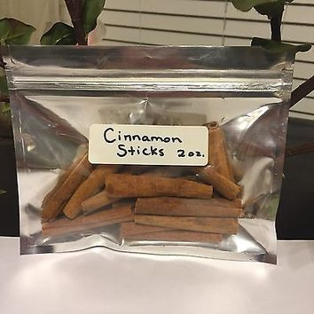 Cinnamon Sticks, Whole 2 oz aprx 14-17. ct. Buy 3 Items Get 1 FREE Spice