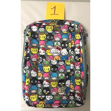 Ju Ju Be Sanrio MiniBe Backpack Baby Diaper Bag Hello Friends NEW