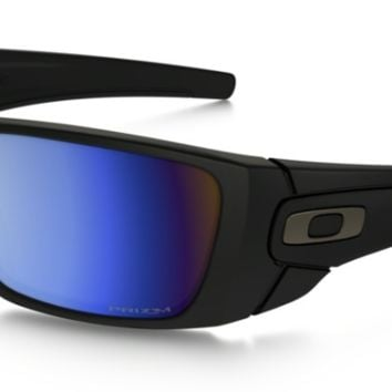 Oakley Fuel Cell Matte Black with Deep Water Prizm Lenses oo9096-D8