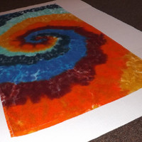 Tie Dye Bath Towel - Any Color Combination Available