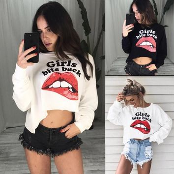 Winter Stylish Long Sleeve Women's Fashion Tops [1447966965857]