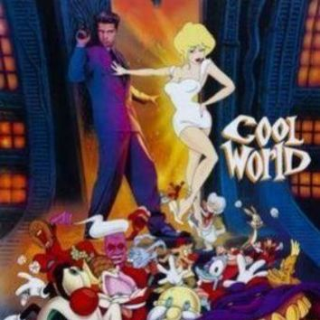 Cool World movie poster Sign 8in x 12in