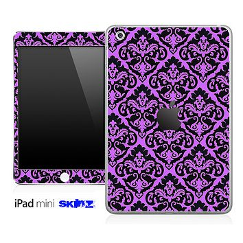Hot Pink and Delicate Pattern Skin for the iPad Mini or Other iPad Versions