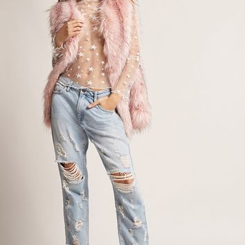 SHACI Faux Fur Vest