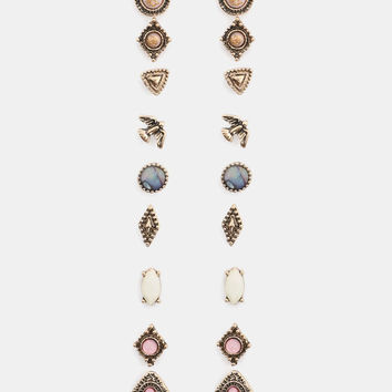 Pack of Rose Gold Studs - Accessories | Ardene