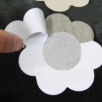 New Bare Bring Up Lifts Push Instant Breast Bra Nipple Cover Chest paste Breast Petals 5 Pairs/set breast stickers