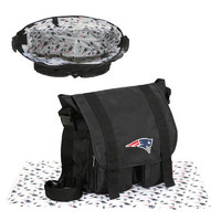 New England Patriots NFL Sitter Baby Diaper Bag