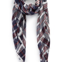 Sole Society Mixed Stripe Scarf | Nordstrom