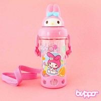 My Melody Bottle With Straw