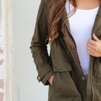 Top Secret Military Jacket
