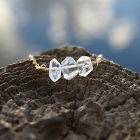 Herkimer Diamond Crystal Necklace