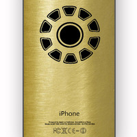 Iron Man Logo Gold for iPhone 4/4S Case **
