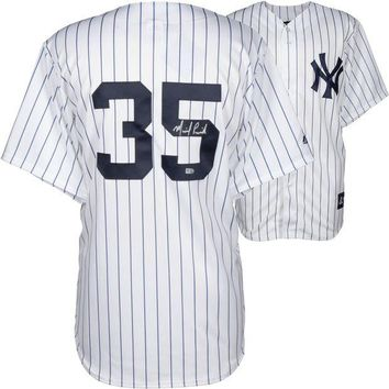 ONETOW Michael Pineda Signed Autographed New York Yankees Baseball Jersey (MLB Authenticated)