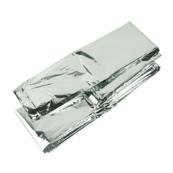 Silver Thin Emergency Rescue Survival Blanket