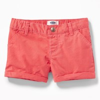 Twill Pull-On Shorts for Toddler Girls old-navy