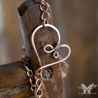 Infinity Heart Copper Bracelet from A Single Dream