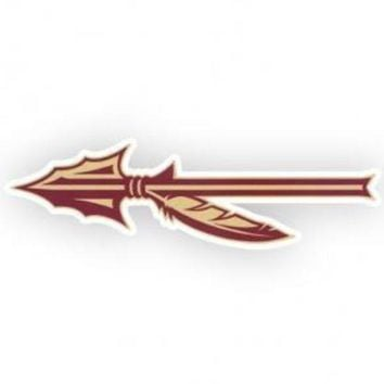 ONETOW NCAA Florida State Seminoles Arrow 2x6 Decal