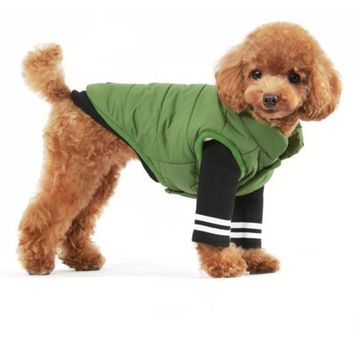 Dog Clothes For Small Dogs Autumn Winter Puppy Chihuahua Pet Dog Clothes Medium Large Dog Coat Jacket