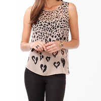 Pixelated Animal Spots Tank