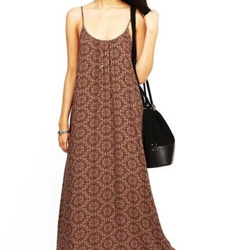 Autumn Vibes Maxi Dress