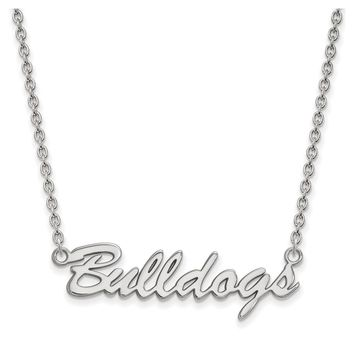 NCAA Sterling Silver U of Georgia Pendant Necklace