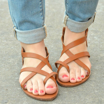 Day Dreaming Sandals - Tan