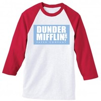 The Office Dunder Mifflin Softball Shirt | NBC Store
