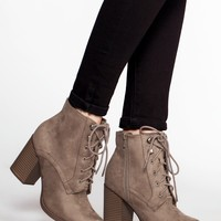 Cloud Nine Booties - Taupe