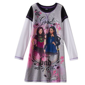 Disney's Descendants ''Good Is The New Bad'' Nightgown - Girls