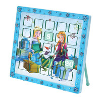 Kurt Adler 9.5-Inch Frozen Anna and Elsa Advent Calendar