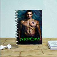 Arrow Oliver Queen Cover Photo Notebook Auroid