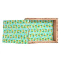 Lisa Argyropoulos Pineapples And Polka Dots Storage Box