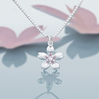 Jewelry Shiny New Arrival Gift Silver Design Stylish Korean Necklace [10065626438]