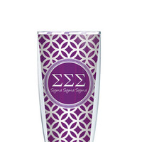 Sigma Sigma Sigma Tumbler - Customize with your monogram or name!
