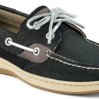 Sperry Top-Sider Bluefish Quilted 2-Eye Boat Shoe Black, Size 6M  Women's Shoes