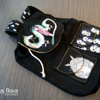 Handmade Studio Ghibli theme bag.