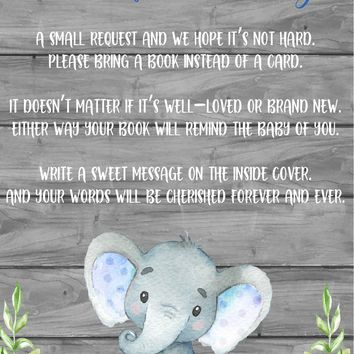 Blue Elephant Books for Baby