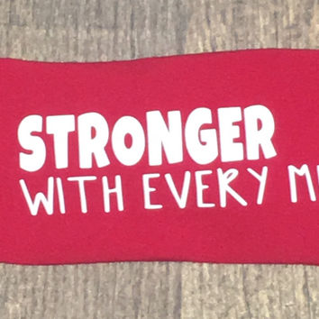 Stronger With Every Mile Janiband